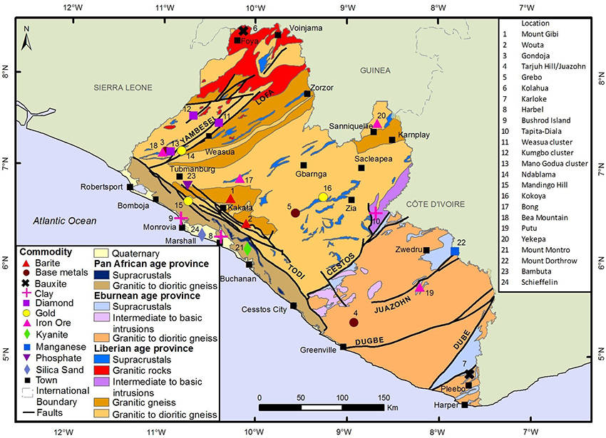 Mineral resources | Liberian Geological Survey