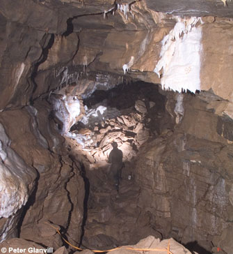 Bat Passage in GB Cave.