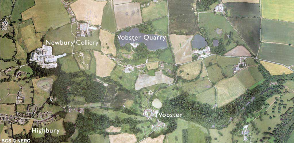The Vobster area | Locality areas | Foundations of the Mendips