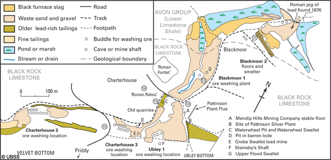 Charterhouse Mining Areas