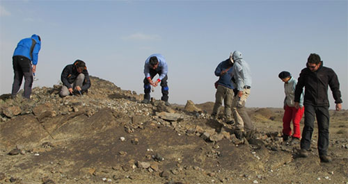 Hunting for mongolite in a sandstorm