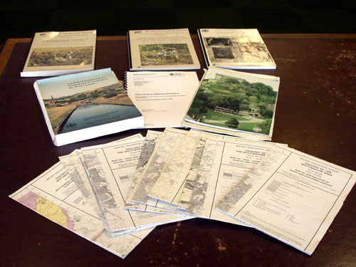 Reports: examples of some of the 20 000 reports that have been produced by the BGS on various aspects of geology in the UK and abroad.
