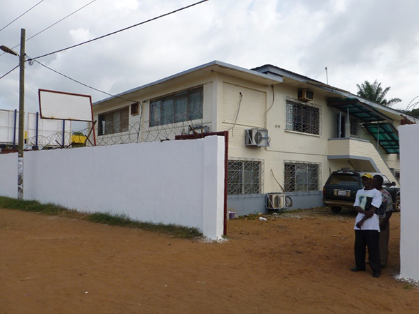 The Liberian Geological Survey in Monrovia