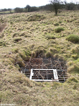 Mineshaft, GB Gruffy Field
