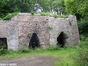 Lime kiln, Split Rock Quarry, Wells.