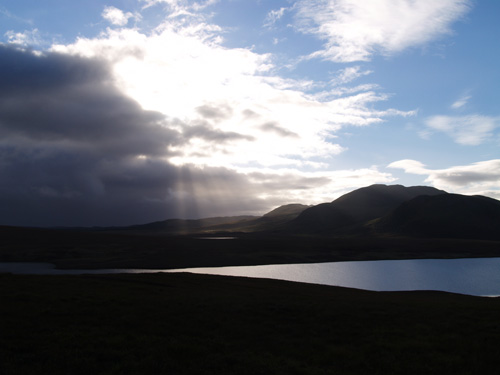 Loch Loyal and Beinn Stumanadh, north-west Scotland