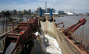 City of Westminster aggregates dredger, BGS©NERC