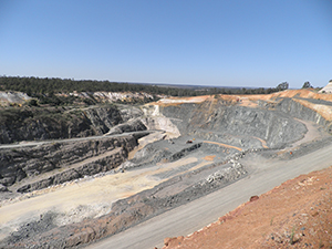 Greenbushes mine, Bunbury, Western Australia, BGS©NERC