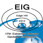 Extractive Industry Geology (EIG) conference logo