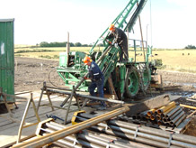 Exploration drilling, BGS©NERC