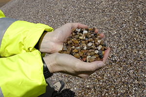 Washed gravel, BGS©NERC
