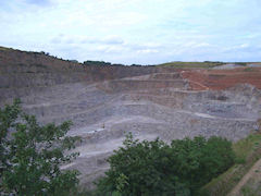 Aggregate Industries (Holcim) Croft quarry, Leicestershire, UK, BGS©NERC