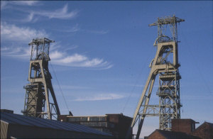 Colliery headworks, BGS©NERC