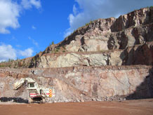 UK hard rock quarrying, BGS©NERC