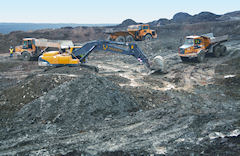 Open-pit gold operation, BGS©NERC