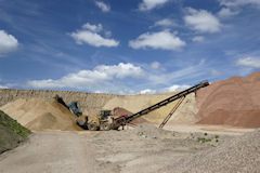 UK sand and gravel quarry, BGS©NERC