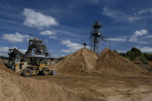 Sand and gravel quarrying, BGS©NERC