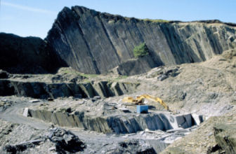 UK quarry, Photo Copyright: BGS©NERC