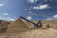 Sand and gravel quarry, BGS©NERC