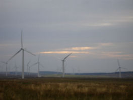 UK windfarm, BGS©NERC