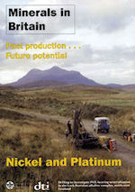 Minerals in Britain: Nickel & Platinum, BGS©NERC