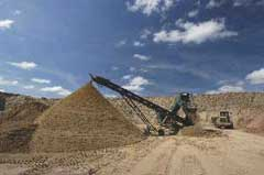 Aggregate quarrying in the UK, BGS©NERC