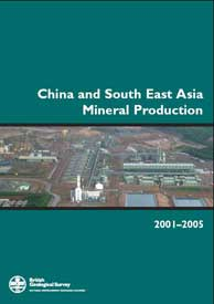 Download China and South East Asia Mineral Production 2001–2005