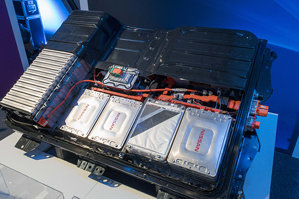 Nissan Leaf battery pack, BGS©NERC