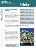 Download Mineral profile - Nickel