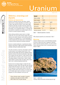 Download Mineral profile - Uranium Profile
