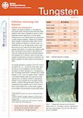 Download the Tungsten mineral profile