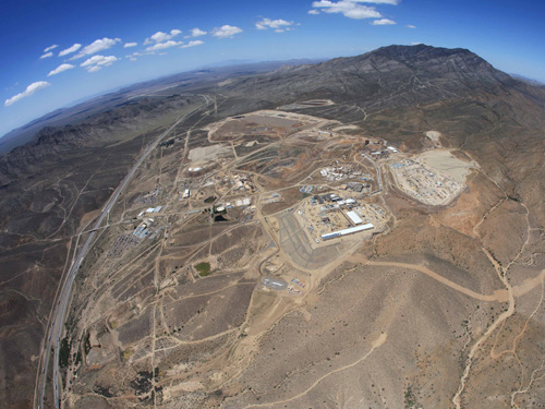 Neodymium-Praseodymium separation facility, Mountain Pass, California ©Molycorp Inc