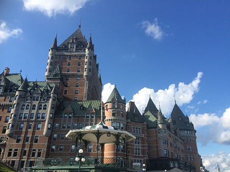 Chateau Frontenac in Quebec City. Photo Copyright Camilla Owens