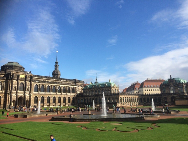 Dresden Zwinger. Photo Copyright Camilla Owens