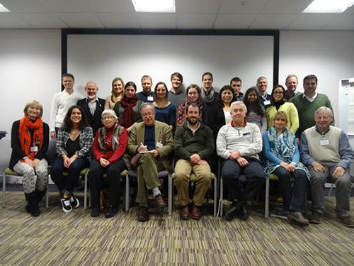 Participants in the SoS RARE thermodynamics workshop. Copyright Sam Broom-Fendley.